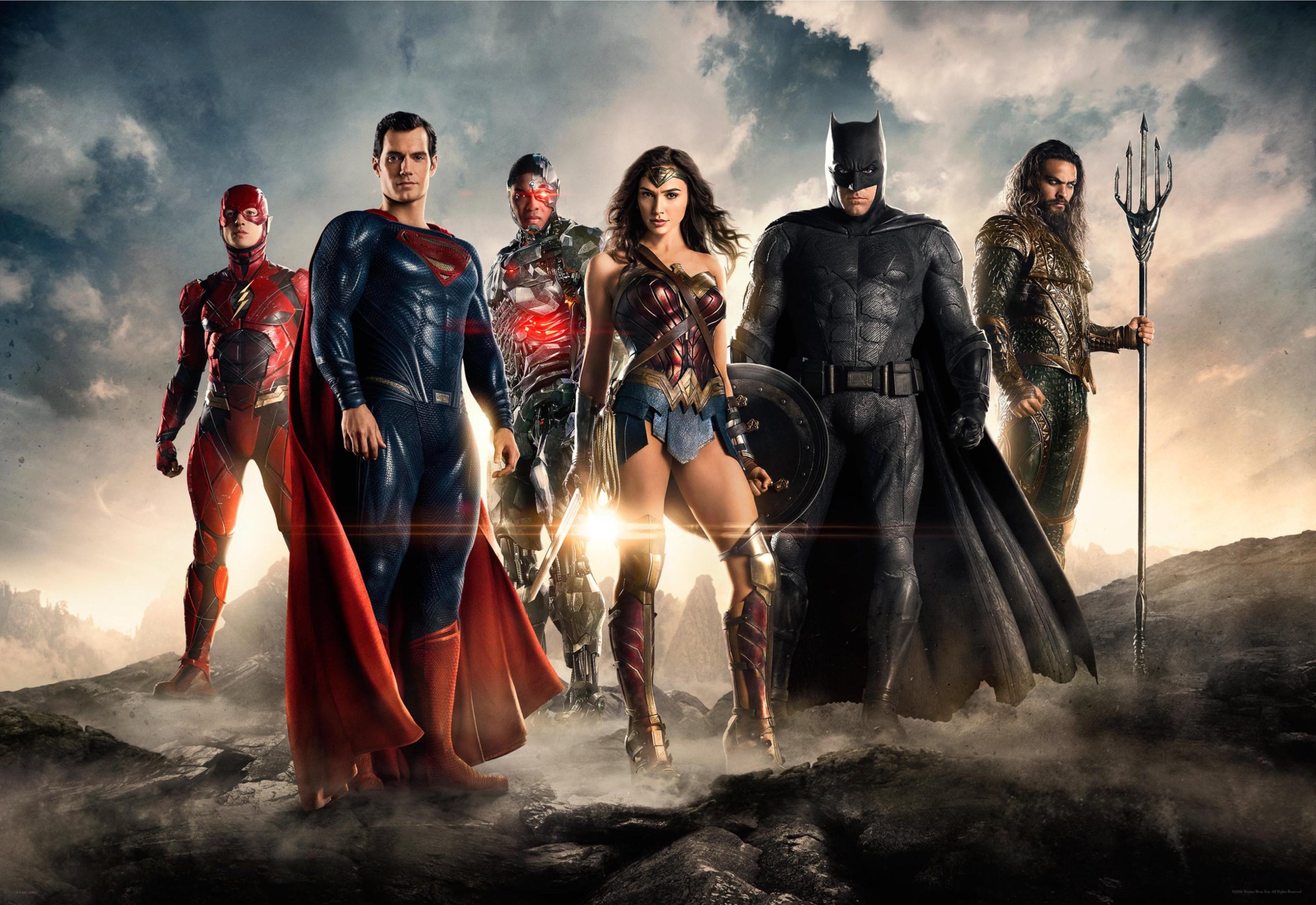 Justice League Comic Con 2016